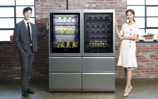 와인셀러-상냉장·하냉동 냉장고… 시그니처 라인업 넓히는 LG전자